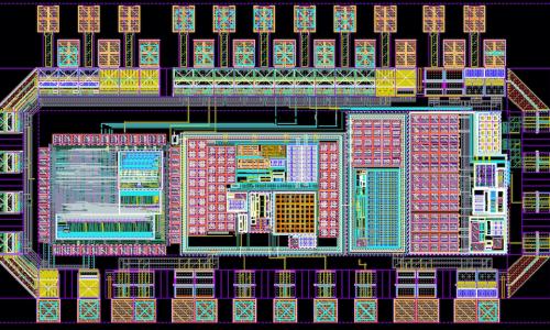 Chip for the oxygen sensor alt