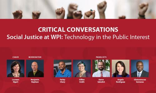 Critical Conversations 2020 Social Justice Technology