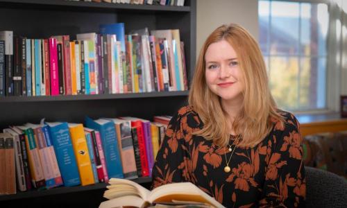 Kate McIntyre, professor of creative writing alt