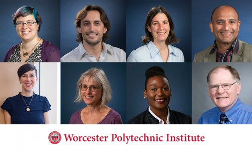 Portraits of six faculty members honored for achievements.