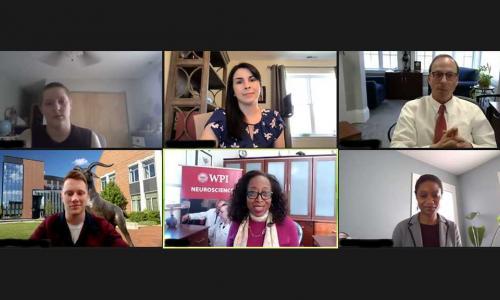Zoom screenshot of panelists alt