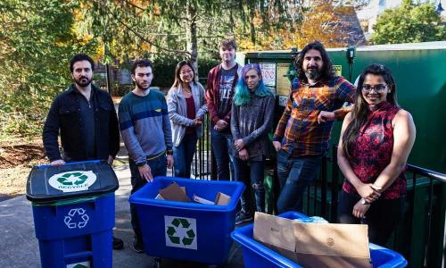 WPI recycling program