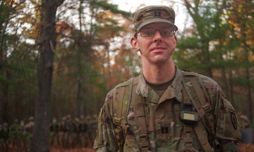 U.S. Army Capt. Stanley Kareta alt