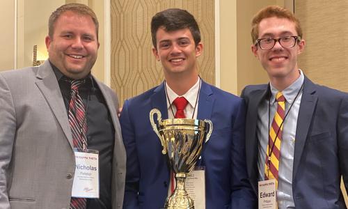 Phi Kappa Theta at WPI wins Founders Cup