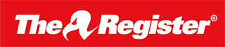 The Register Sci/Tech News Logo